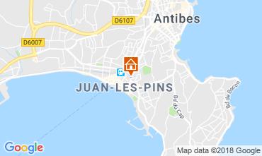 Karte Juan les Pins Appartement 80674