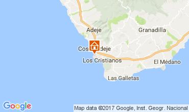 Karte Playa de las Américas Appartement 108562