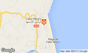 Karte Cabo Negro Appartement 96218
