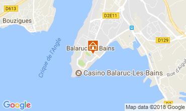 Karte Balaruc les Bains Studio 115962