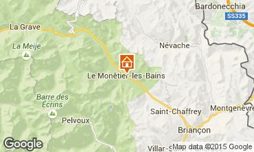 Karte Serre Chevalier Chalet 2989