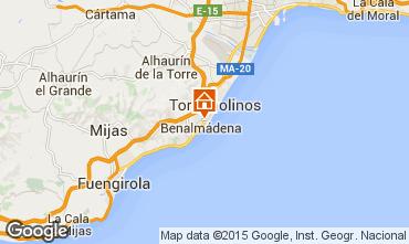 Karte Torremolinos Appartement 91693