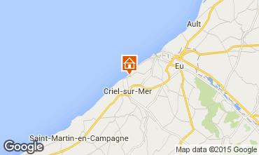 Karte Le Tréport Haus 7738