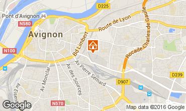 Karte Avignon Studio 59338