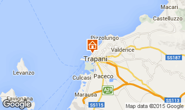 Karte Trapani Appartement 68809