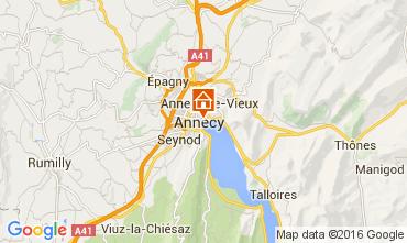 Karte Annecy Appartement 106034