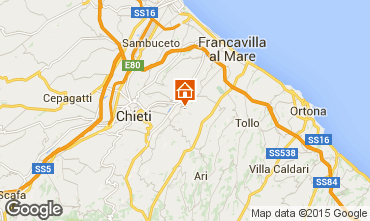 Karte Francavilla al Mare Appartement 84256