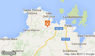 Karte Santa Teresa di Gallura Villa 29667