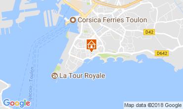 Karte Toulon Studio 113411