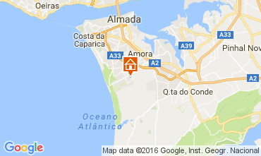 Karte Charneca de Caparica Villa 106446