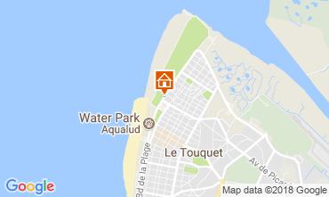Karte Le Touquet Studio 104169