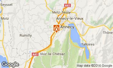 Karte Annecy Appartement 103303