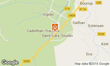 Karte Saint Lary Soulan Studio 80562