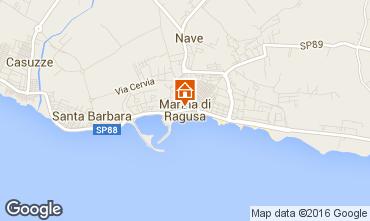 Karte Marina di Ragusa Villa 81007