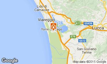 Karte Viareggio Haus 70340
