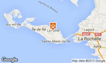 Karte La Flotte en R� Villa 75537