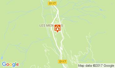 Karte Les Menuires Studio 1710