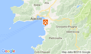 Karte Porticcio Villa 106233