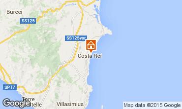 Karte Costa Rei Bungalow 52915