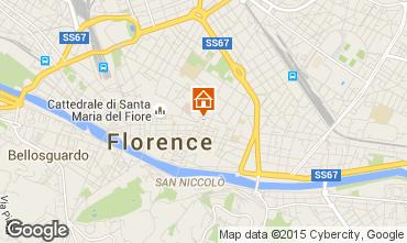 Karte Florenz Appartement 97471