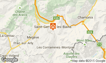 Karte Saint-Gervais-les-Bains Appartement 2555