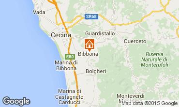 Karte Bibbona Haus 29790