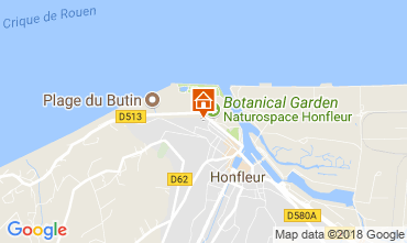 Karte Honfleur Appartement 112075