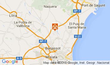 Karte Valencia Villa 73432