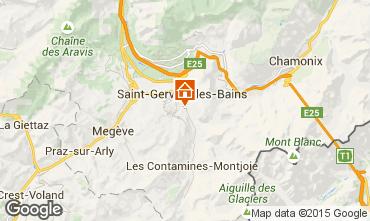 Karte Saint Gervais Mont-Blanc Appartement 58539