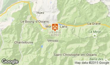 Karte Les 2 Alpes Appartement 85753