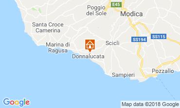 Karte Donnalucata Appartement 88164