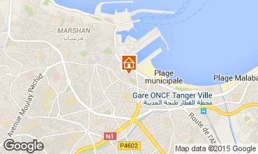 Karte Tanger Appartement 40332