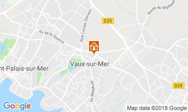 Karte Vaux sur Mer Appartement 116368