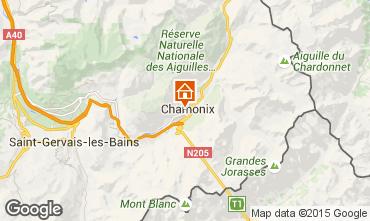 Karte Chamonix Mont-Blanc Appartement 669