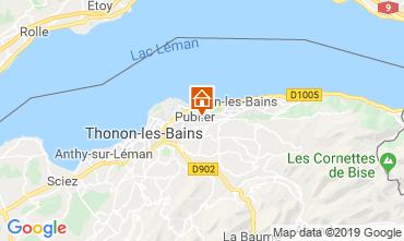 Karte Evian les Bains Appartement 106719