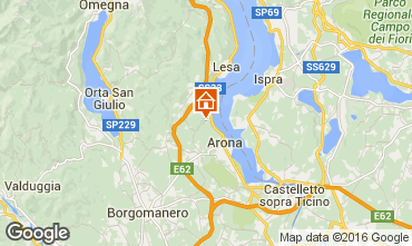Karte Arona Haus 100694