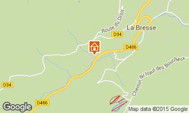 Karte La Bresse Appartement 92245