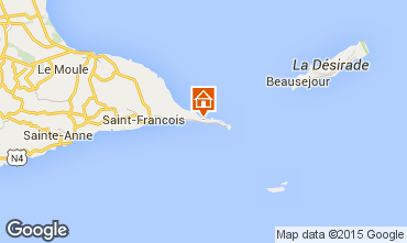 Karte Saint Francois Villa 65357
