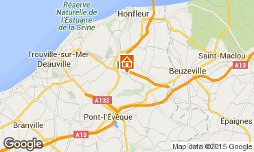 Karte Deauville Au�ergew�hnliches Fremdenzimmer 72038