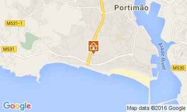 Karte Praia da Rocha Appartement 101282