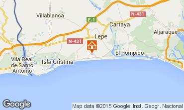 Karte Islantilla Villa 63497