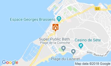 Karte Sete Appartement 116453