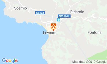 Karte Levanto Appartement 117324