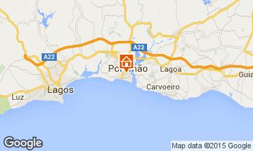 Karte Praia da Rocha Appartement 75306