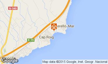Karte L'Ampolla Villa 94907