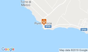 Karte Punta Secca Haus 43100