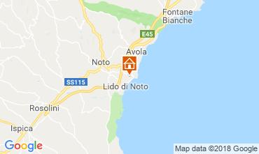 Karte Noto Villa 117431