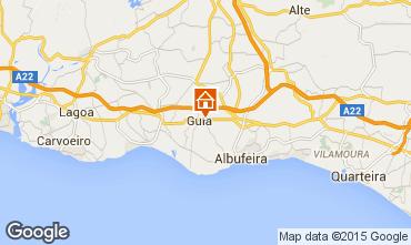 Karte Albufeira Villa 82023