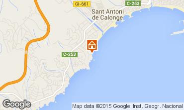 Karte Sant Antoni de Calonge Appartement 98168
