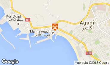 Karte Agadir Appartement 54064
